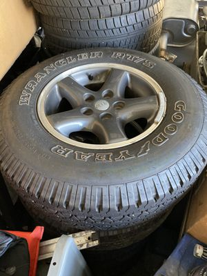 Wheels and Tires JEEP Wrangler Special Edition for Sale in Hendersonville, TN