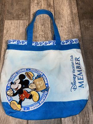 Disney Vacation Club Mickey Mouse canvas bag $40 for Sale in Tampa, FL