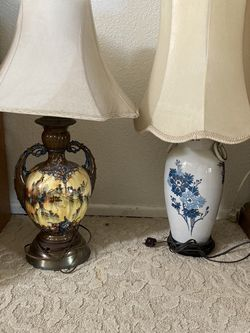 Vintage Lamps Please Read Description for Sale in Los Angeles,  CA