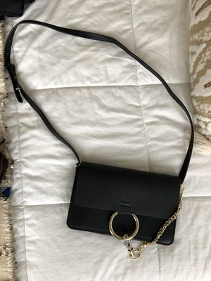 Designer Black Gold and Silver Crossbody Bag for Sale in Seattle, WA