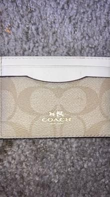 Coach Designer Card Wallet for Sale in Saint Charles, MO
