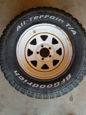 30 inch tires. BF Goodrich for Sale in Littleton, CO