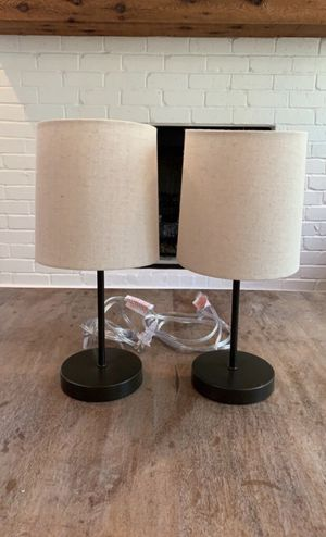 Two Threshold Lamps *Lowered Price!* for Sale in Nashville, TN