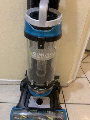 Bissell Cleanview swivel cord rewind vacuum cleaner like new never used open box excellent working condition with accessories included for Sale in Las Vegas, NV