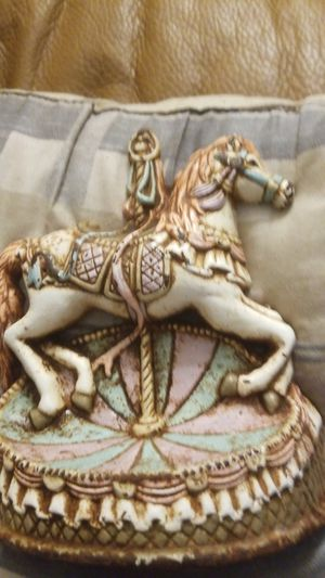 Vintage carousel horse doorstop for Sale in Seaford, DE