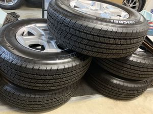 2020 jeep wheels and tires brand new for Sale in La Habra, CA