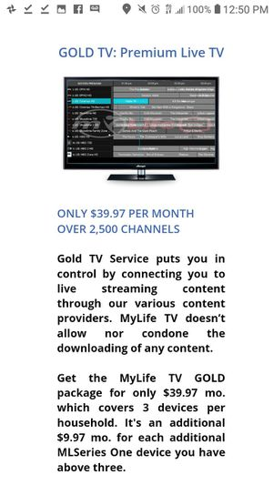 Free month to try 7600 channels HBO! for Sale in Evansville, IN