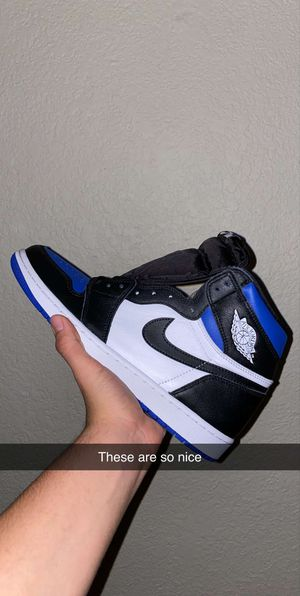Air Jordan 1 royal toe for Sale in Round Rock, TX