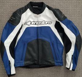 Aplinestars Leather Motocycle Jacket Mens 44 for Sale in Gresham,  OR