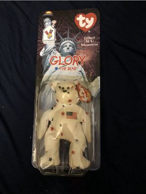 """Ty Beanie Babies''Glory The Bear"""" New tush tags say 1993 for Sale in Dublin, OH"""