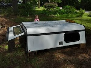 Camper shell with compartments in great condition for Sale in Columbus, MS