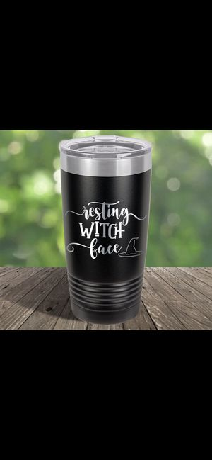 """New! """"Resting witch face"""" tumbler! for Sale in Clackamas, OR"""