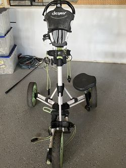 Foldable Clicgear Golf Bag Carrier for Sale in Gilbert,  AZ