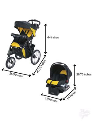 Graco trax jogger travel system with snugride 30 for Sale in Denver, CO