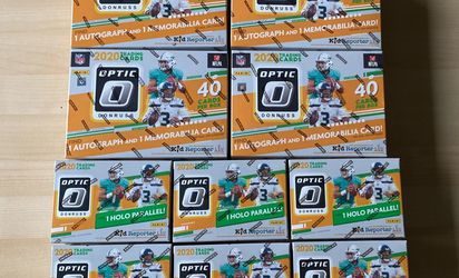 2020 Panini Donruss Optic Football Mega Boxes (4) And Blasters (6) for Sale in Newberg,  OR