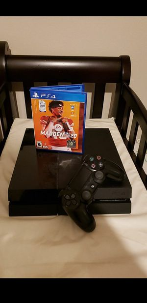 Ps4 slim 1tb with madden 2020 for Sale in Taylor Lake Village, TX