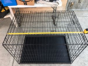 Dog catre XL $40 and New Large Crate $40 for Sale in Richmond, CA