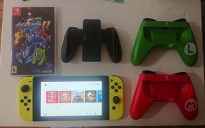 Nintendo switch with 15 games, two joysticks, joy cons pad and 128gb SD card for sale for Sale in Los Angeles, CA
