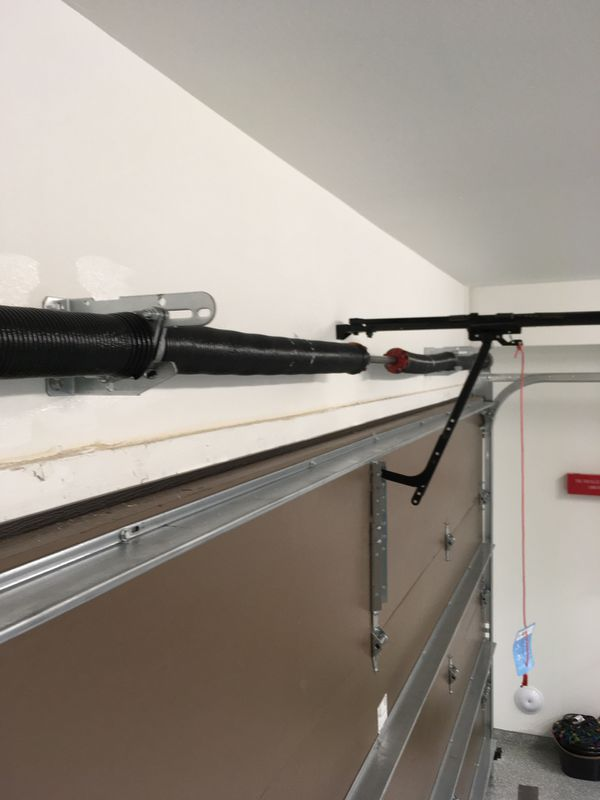 New Garage Door Spring/ Cables/Panels/Opener/sensor /tracks/Rolers And More