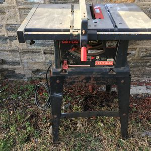 Craftsman table saw for sale for Sale in Yonkers, NY