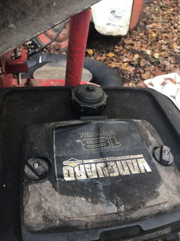 Vanguard leaf vacuum 18hp