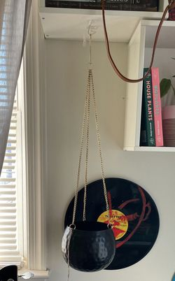 Black And Gold Hanging Pot for Sale in Hyattsville,  MD