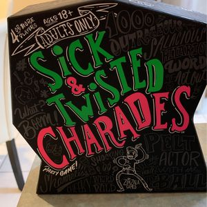 Sick & Twisted Charades for Sale in Romeoville, IL