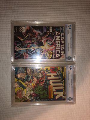 Marvel Comic Books Both Near mint for Sale in Fairfax, VA