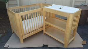 Moving Sale: Crib, Changing Table, and Mattress/Pad Set for Sale in Odenton, MD