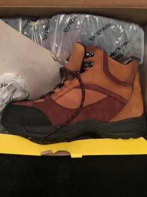 Quantum waterproof steel toe oil resistant work boots size 12 wide for Sale in Detroit, MI