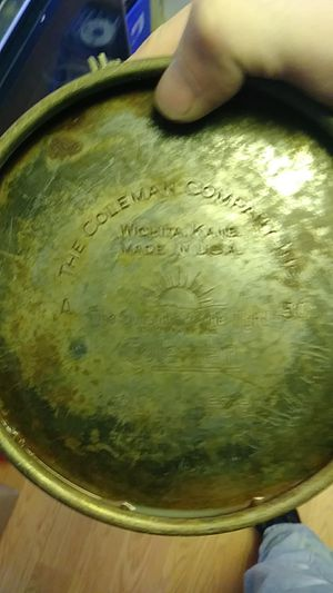 Coleman lantern 1973 1974 a 50 patent number 958-8409 for Sale in Buffalo, NY
