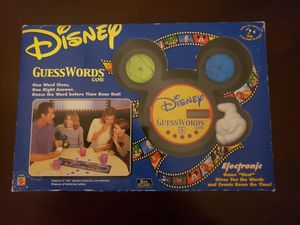 Disney GuessWords Board Game for Sale in Los Angeles, CA