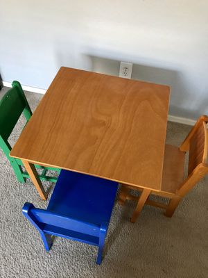 Kids Table and Chairs for Sale in Chandler, AZ