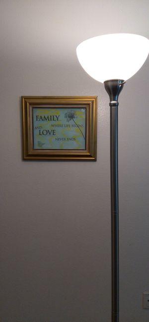Floor lamp, wall decor, coat rack for Sale in Tacoma, WA