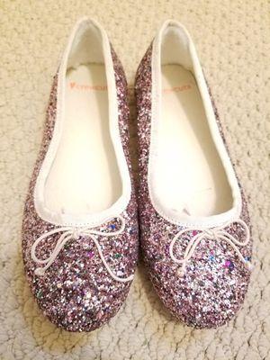 J. Crew Girl's Glitter Ballet Flats for Sale for sale  Morgantown, WV