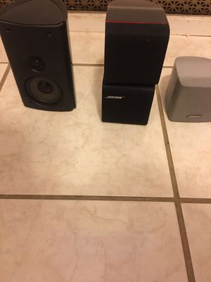 Bose & Polk audio speakers for Sale in Washington, DC