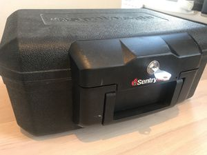 Sentry Fire Proof Safe Lockbox for Sale in New York, NY