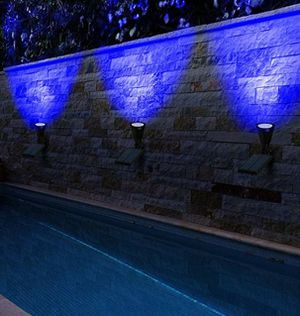 Adjustable and waterproof solar light for garden, patio, pool, or walkway for Sale in Austin, TX