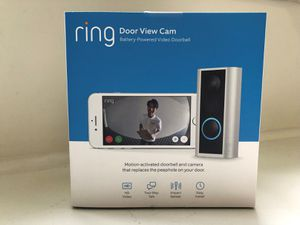 Ring Peephole Cam - Brand New (130 OBO) for Sale in BVL, FL