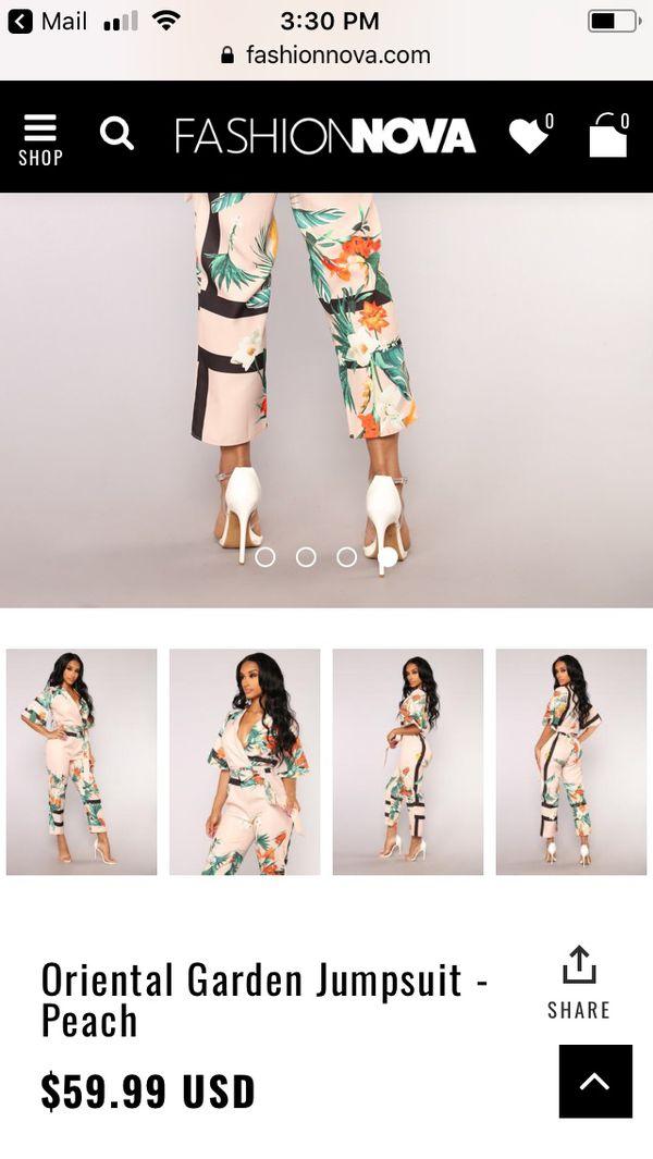 a17ff9251176 Oriental Garden Jumpsuit in XL for Sale in Sacramento