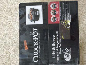 Crock Pot Slow Cooker for Sale in Franklin Township,  NJ