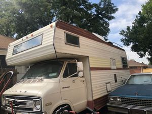 76 red dale dodge camper for Sale in Northglenn, CO