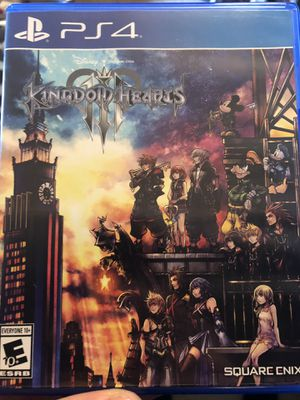 Kingdom hearts 3 ps4 for Sale in San Marcos, TX