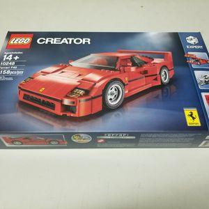 LEGO Creator Expert 10248 Ferrari F40 Red Car (1158 pieces) - New In Sealed Box for Sale in Los Angeles, CA