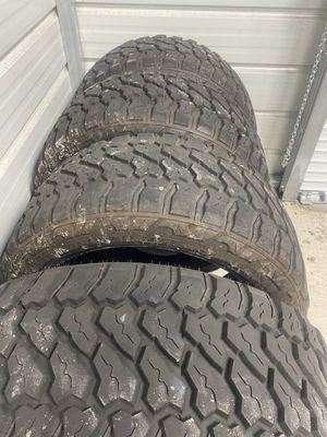 Set of 4 Fury M/T Tires Country Hunter for Sale in Palm Beach Gardens, FL