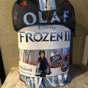 New Frozen II Snuggle Wrap Olaf for Sale in Dayton, TX