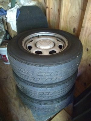 3 Ford f150 tires and rims 245 - 70 - 17 for Sale in Lawrenceville, GA