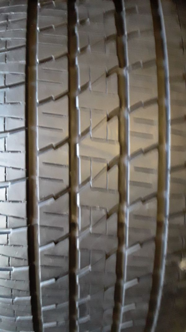 4 good set of bridgestone tires for sale 285/45/22