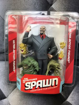 The Adventures of Spawn LORD MAMMON Ultra-Action Figure Collector's Club New for Sale in Fresno, CA