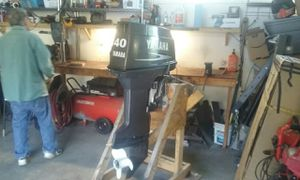 1999 Yamaha 40hp Oil injection Outboard Longshaft for Sale in Wenatchee, WA